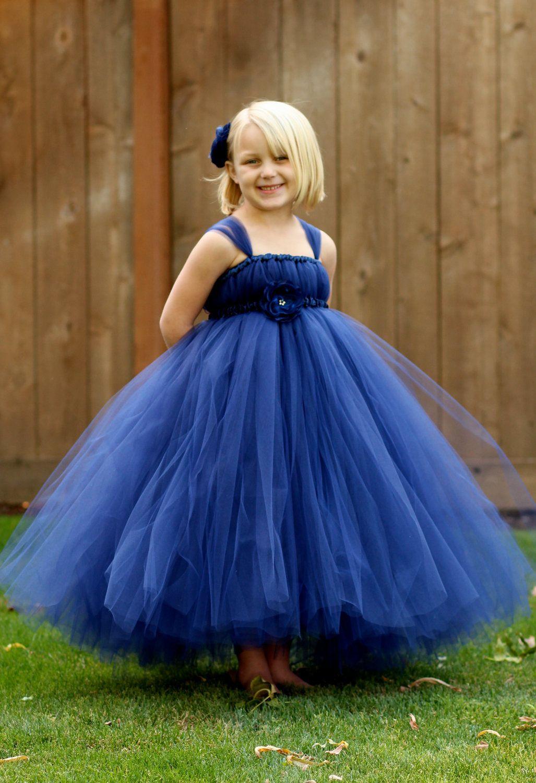 Park Art|My WordPress Blog_Flower Girl Navy Blue Dresses