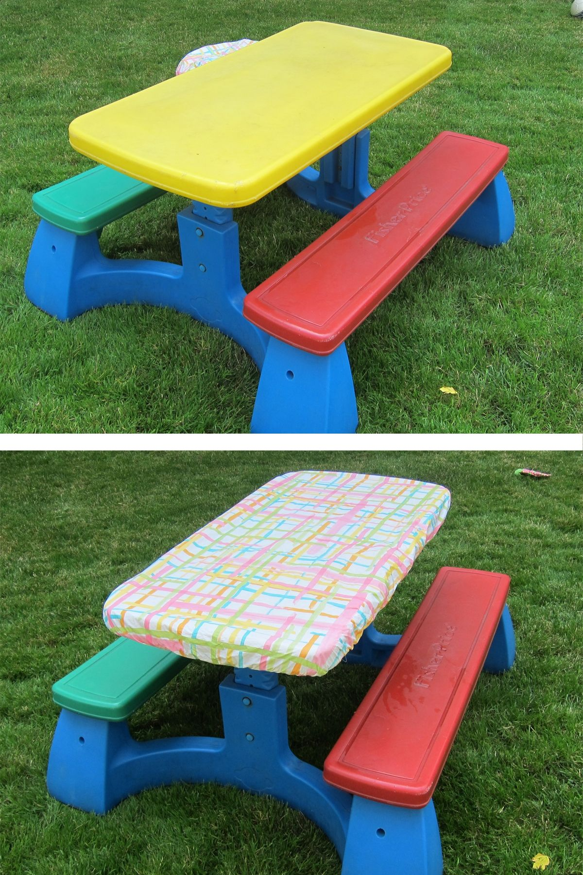 Park Art|My WordPress Blog_Fitted Picnic Table Cover Set