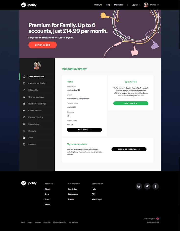 Park Art My WordPress Blog_How To Change Payment On Spotify Mobile App