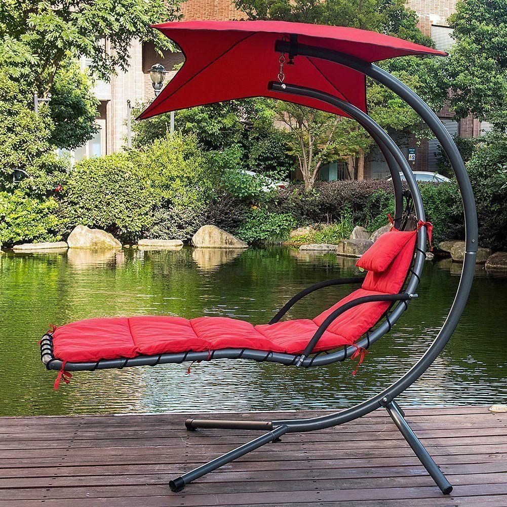 Park Art|My WordPress Blog_Hammock Rocking Chair With Attached Umbrella
