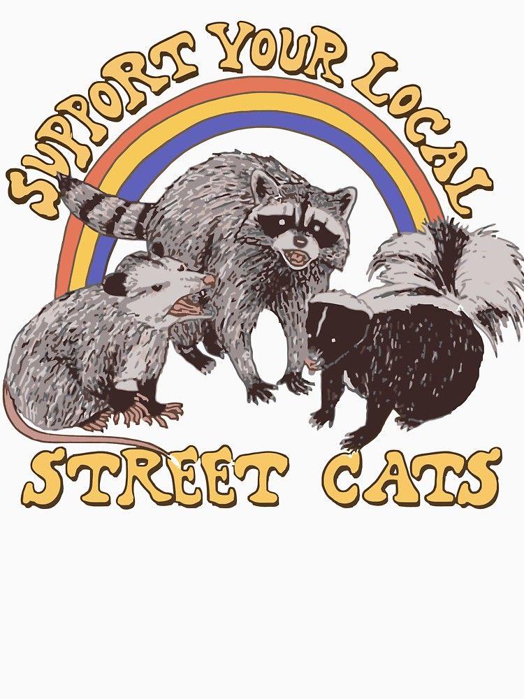 Park Art My WordPress Blog_Support Your Local Street Cats Shirt