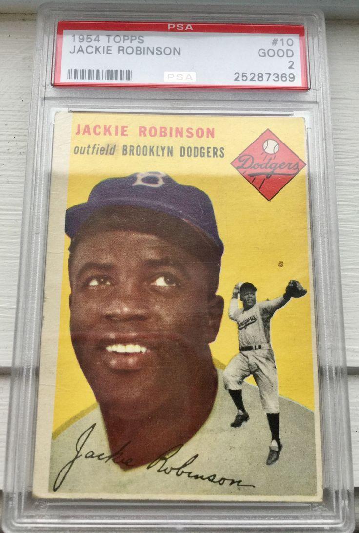 Park Art|My WordPress Blog_Jackie Robinson Baseball Card Signed
