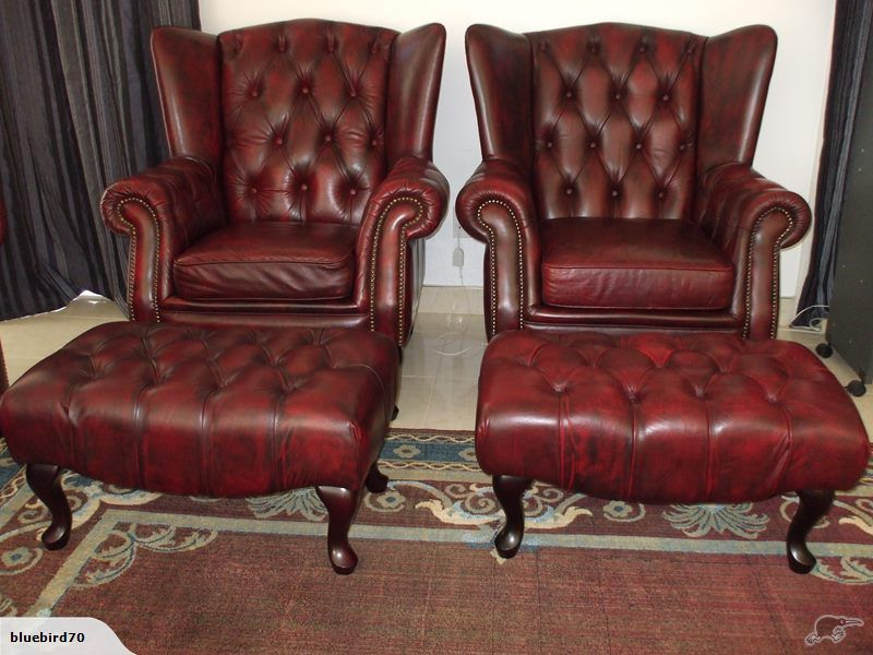 Park Art|My WordPress Blog_Leather Chesterfield Chair And Ottoman