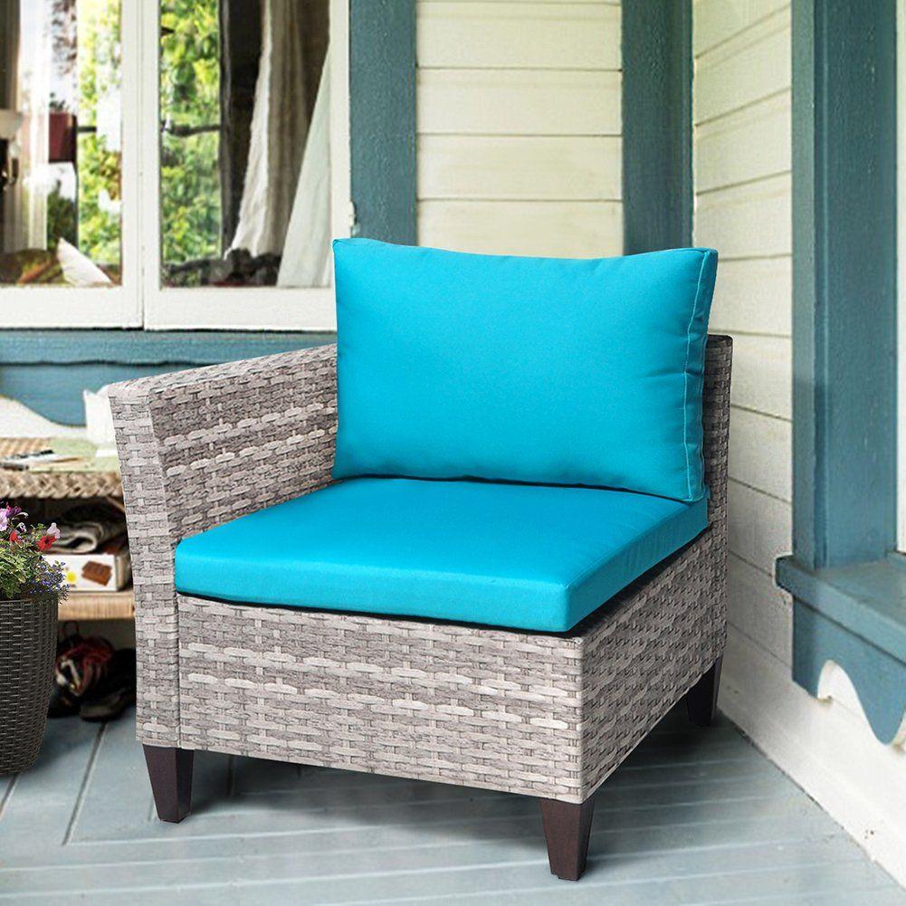Park Art|My WordPress Blog_Outdoor Corner Chair With Ottoman