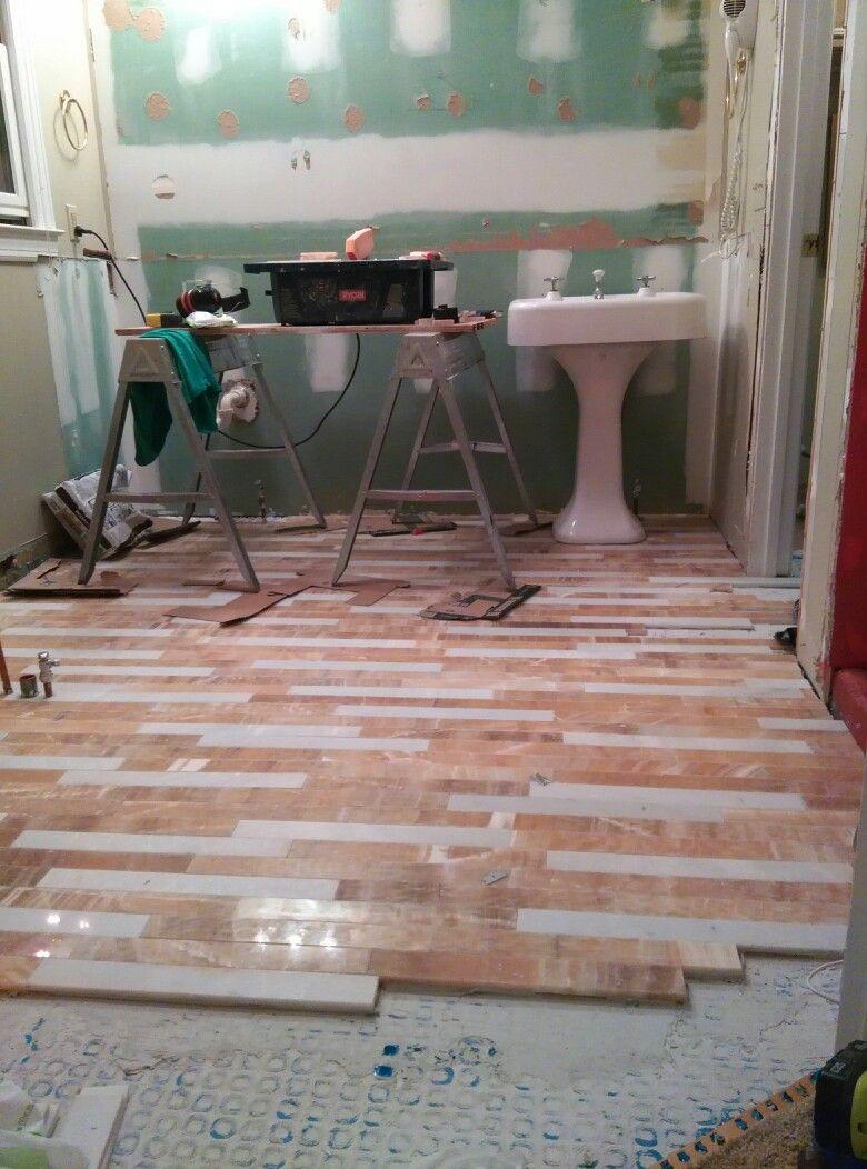Park Art|My WordPress Blog_How Heated Marble Floors Are Laid