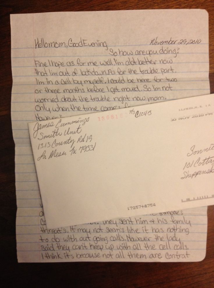 Park Art My WordPress Blog_How To Write Letters To An Inmate