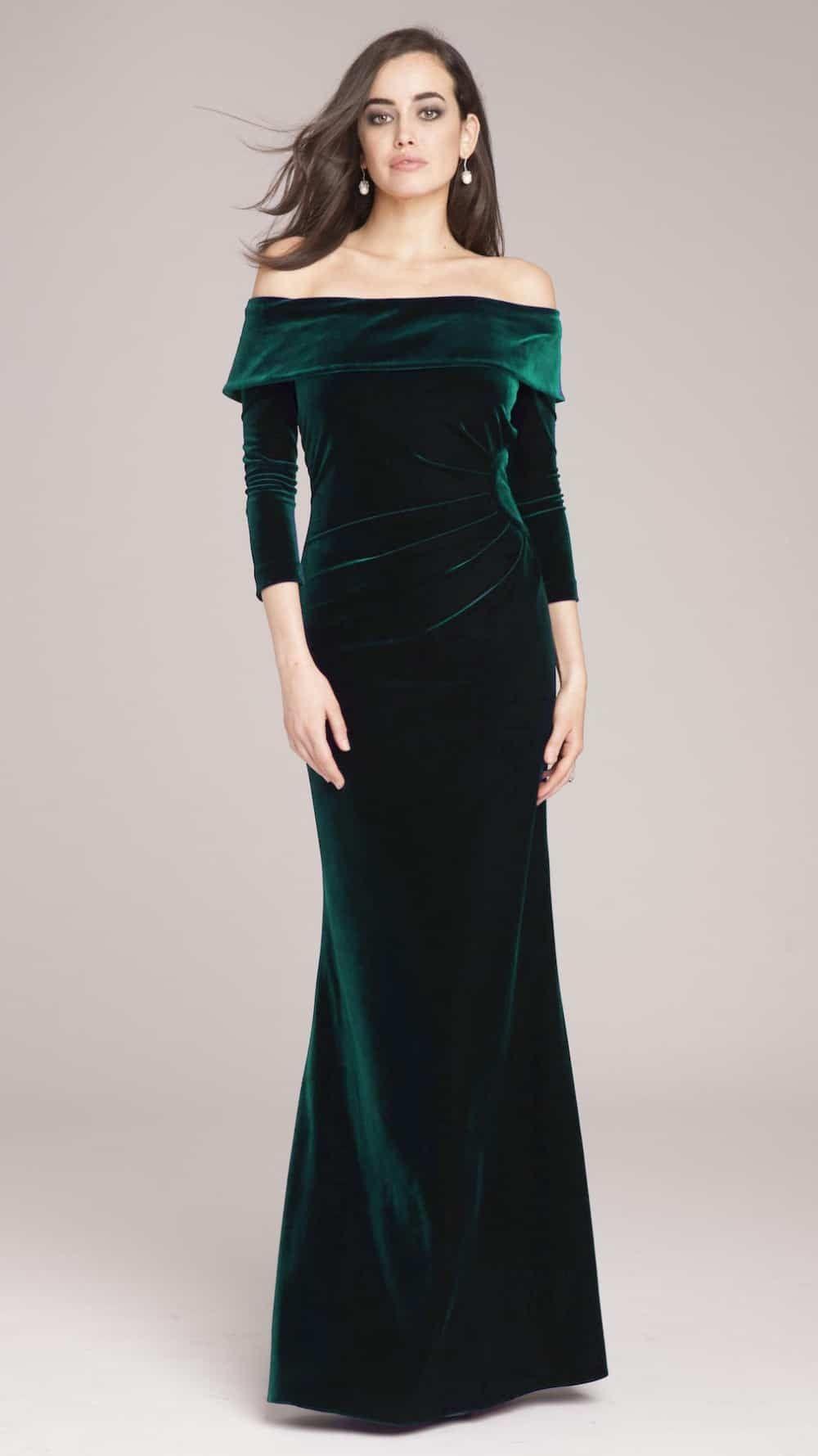 Park Art My WordPress Blog_Green Velvet Bridesmaid Dresses Long Sleeve