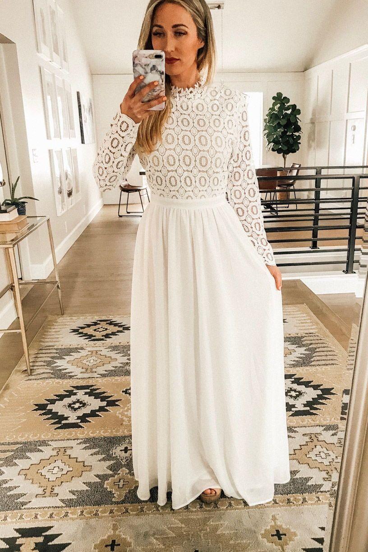 Park Art|My WordPress Blog_Modest White Dress For Bridal Shower