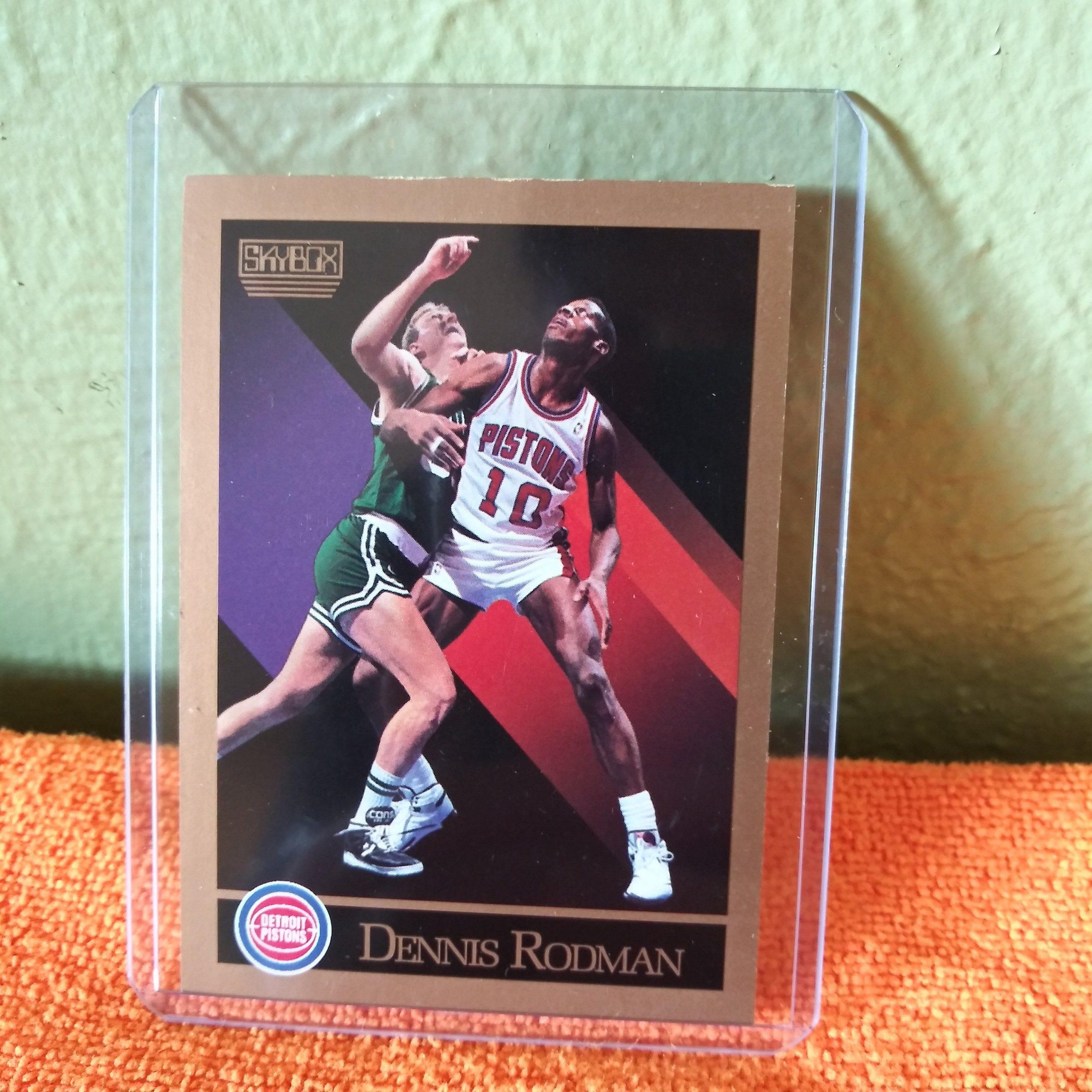 Park Art|My WordPress Blog_Dennis Rodman Pistons Basketball Card