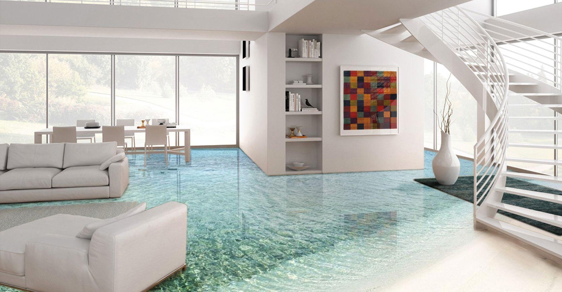 Park Art|My WordPress Blog_Living Room Modern Epoxy Flooring