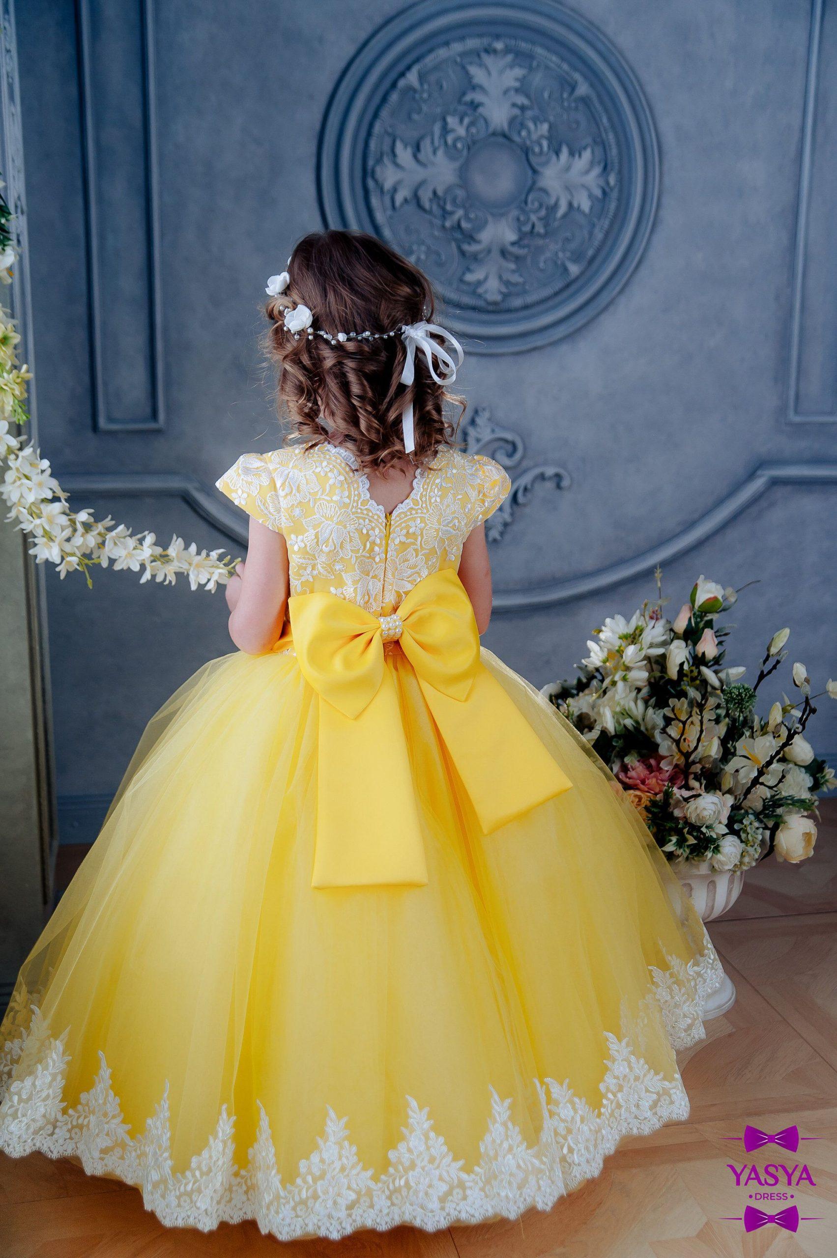 Park Art|My WordPress Blog_Yellow Flower Girl Dress Toddler
