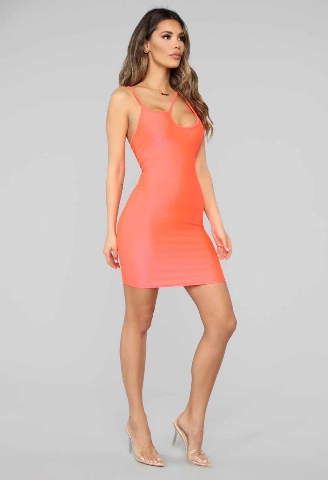 Park Art|My WordPress Blog_Neon Orange Dress Fashion Nova