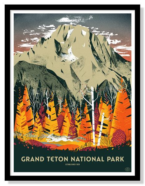 Park Art|My WordPress Blog_37+ Grand Teton National Park Poster  Gif