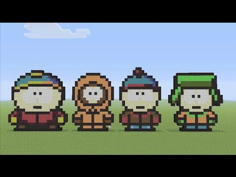 Park Art|My WordPress Blog_Get South Park Pixel Art  Gif