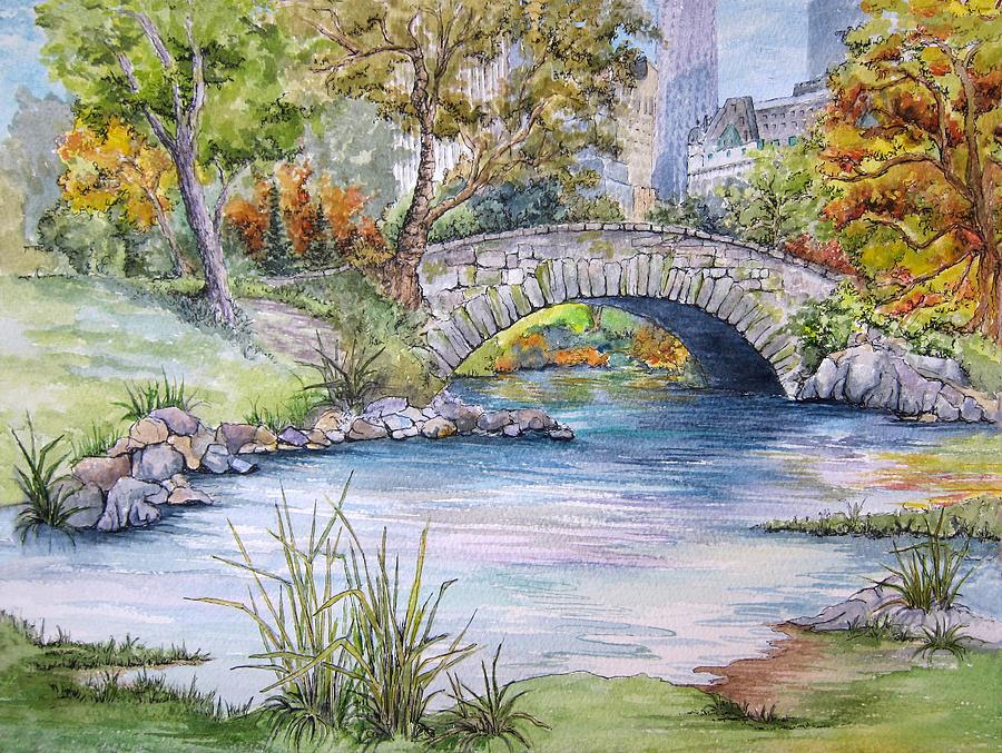Park Art|My WordPress Blog_48+ Central Park Bridge Canvas Art  PNG