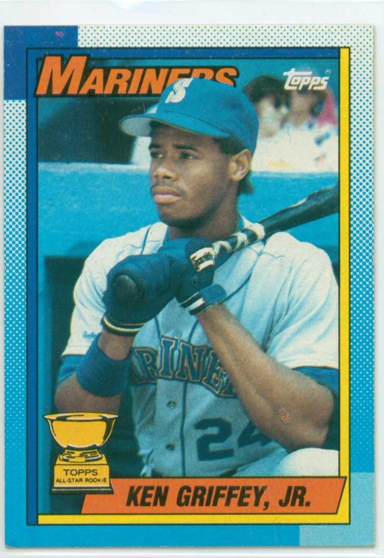 Park Art|My WordPress Blog_Ken Griffey Jr Baseball Card Rookie