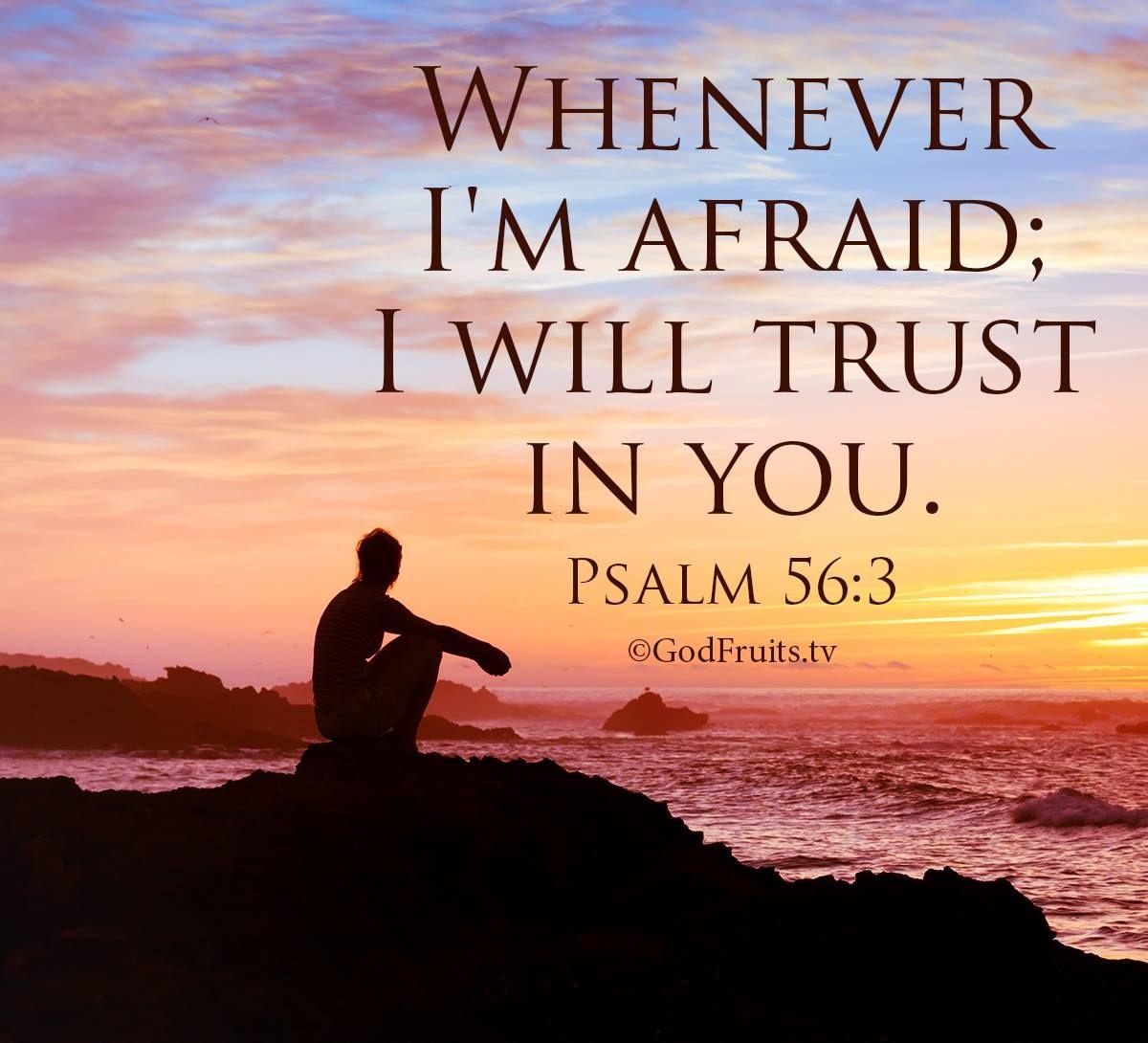 Park Art My WordPress Blog_When I Am Afraid I Will Trust In You Scripture