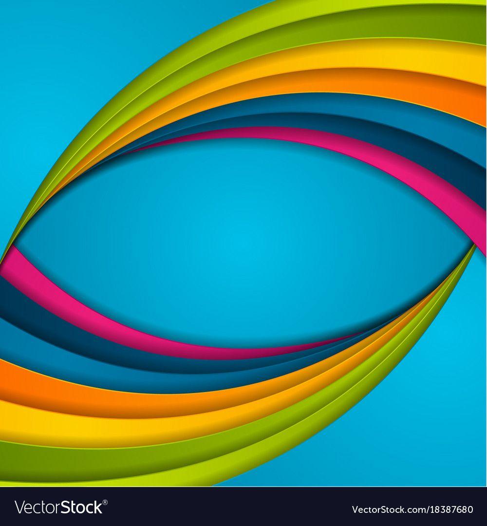 Park Art|My WordPress Blog_Art Rainbow Abstract Vector Background