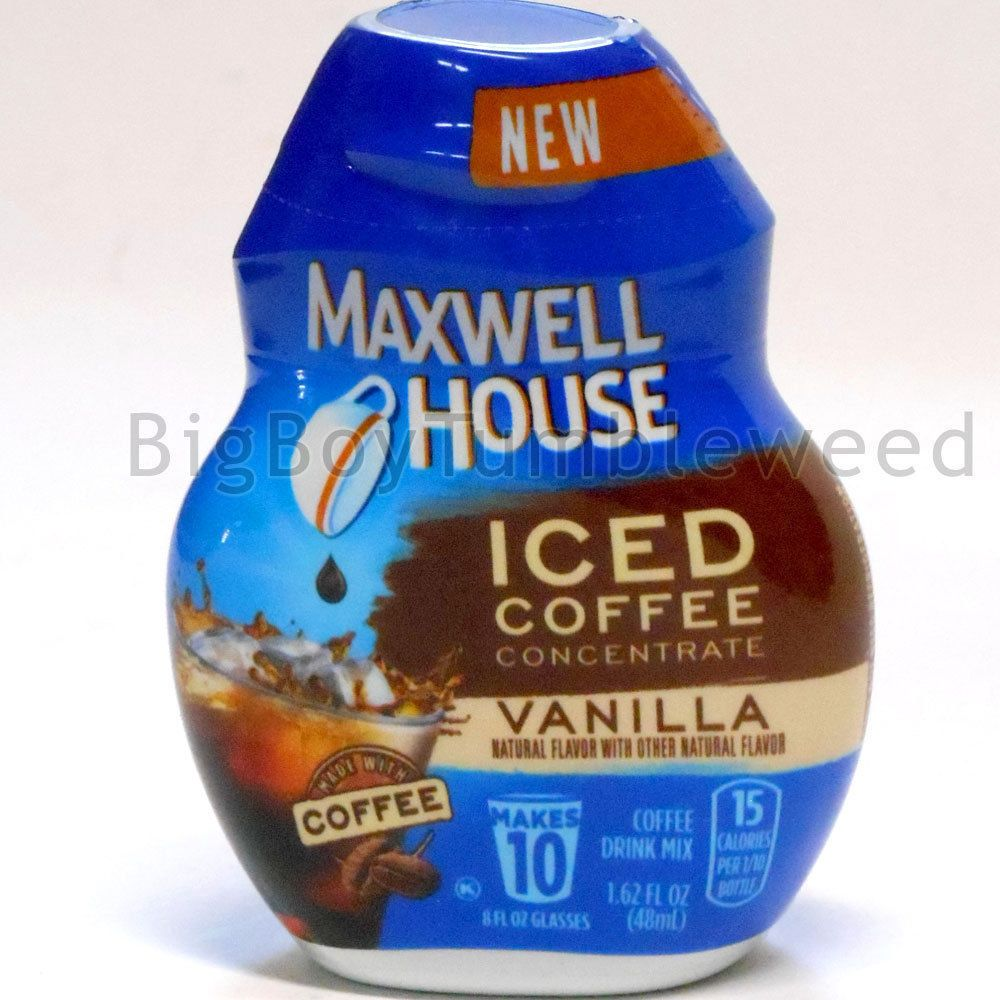 Park Art|My WordPress Blog_Maxwell House Iced Coffee Concentrate