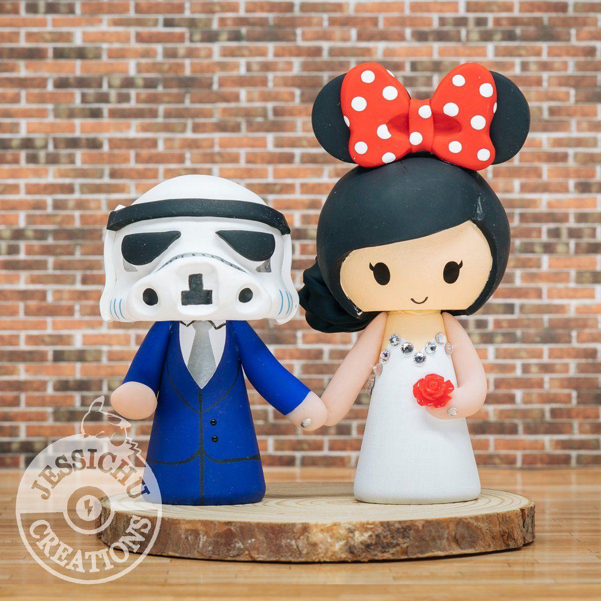 Park Art|My WordPress Blog_Disney Star Wars Wedding Cake Toppers