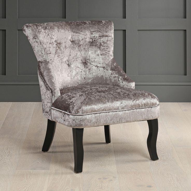 Park Art My WordPress Blog_White Velvet Chair For Bedroom