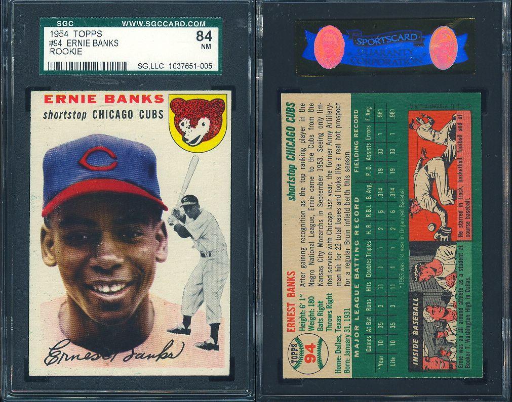 Park Art|My WordPress Blog_Ernie Banks Rookie Card Value