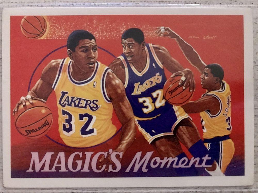 Park Art|My WordPress Blog_Magic Johnson Basketball Card 1991