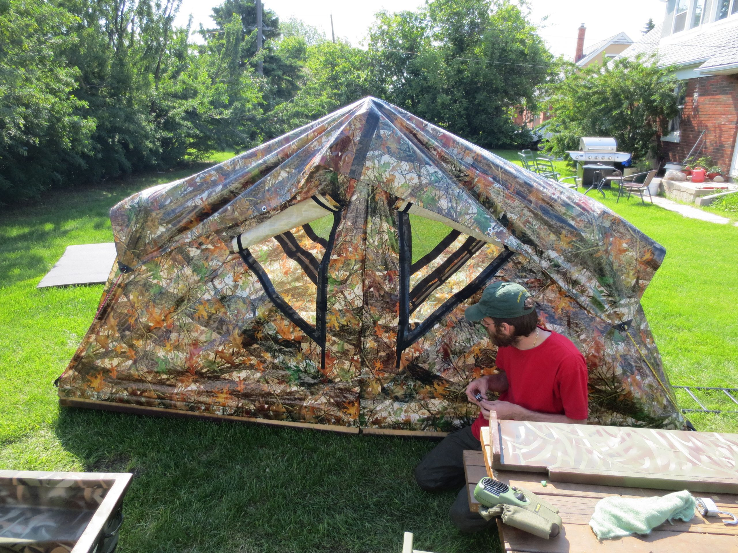 Park Art|My WordPress Blog_How To Build A Tent From Scratch