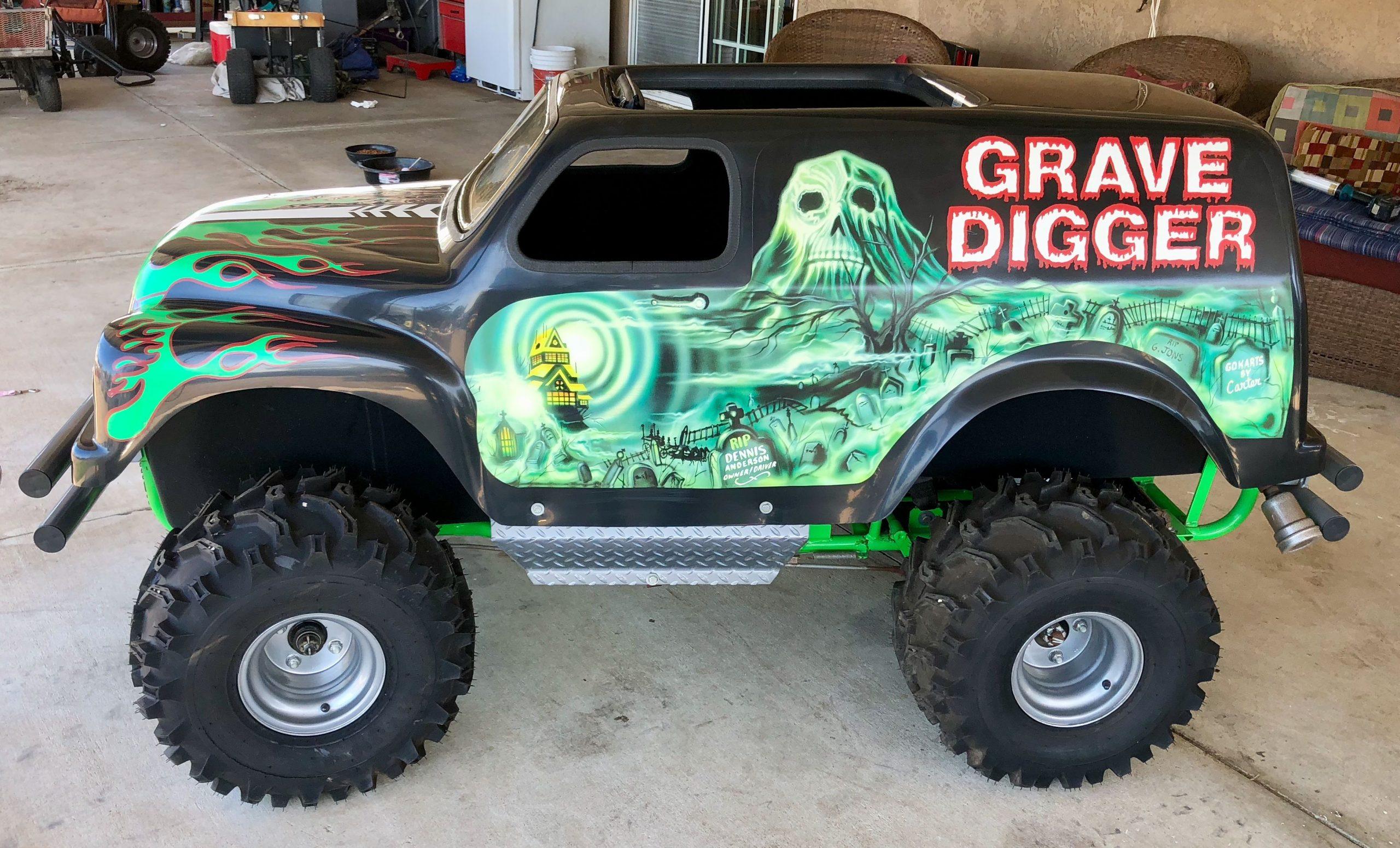 Park Art|My WordPress Blog_Mini Monster Truck Frames For Sale