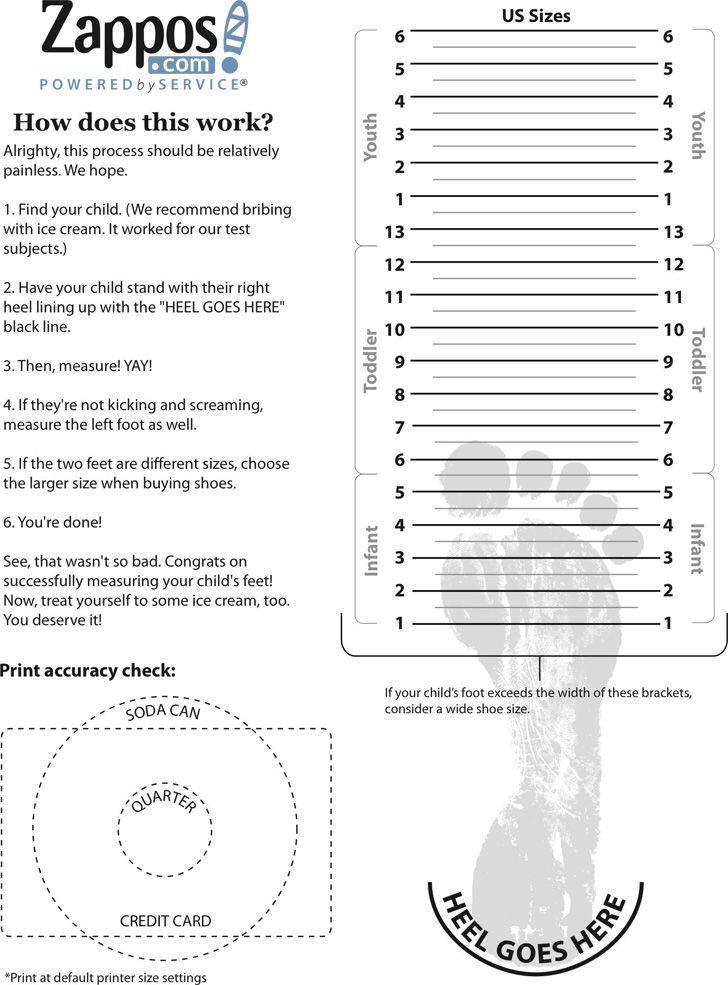 Park Art My WordPress Blog_How To Measure Child Shoe Size Uk