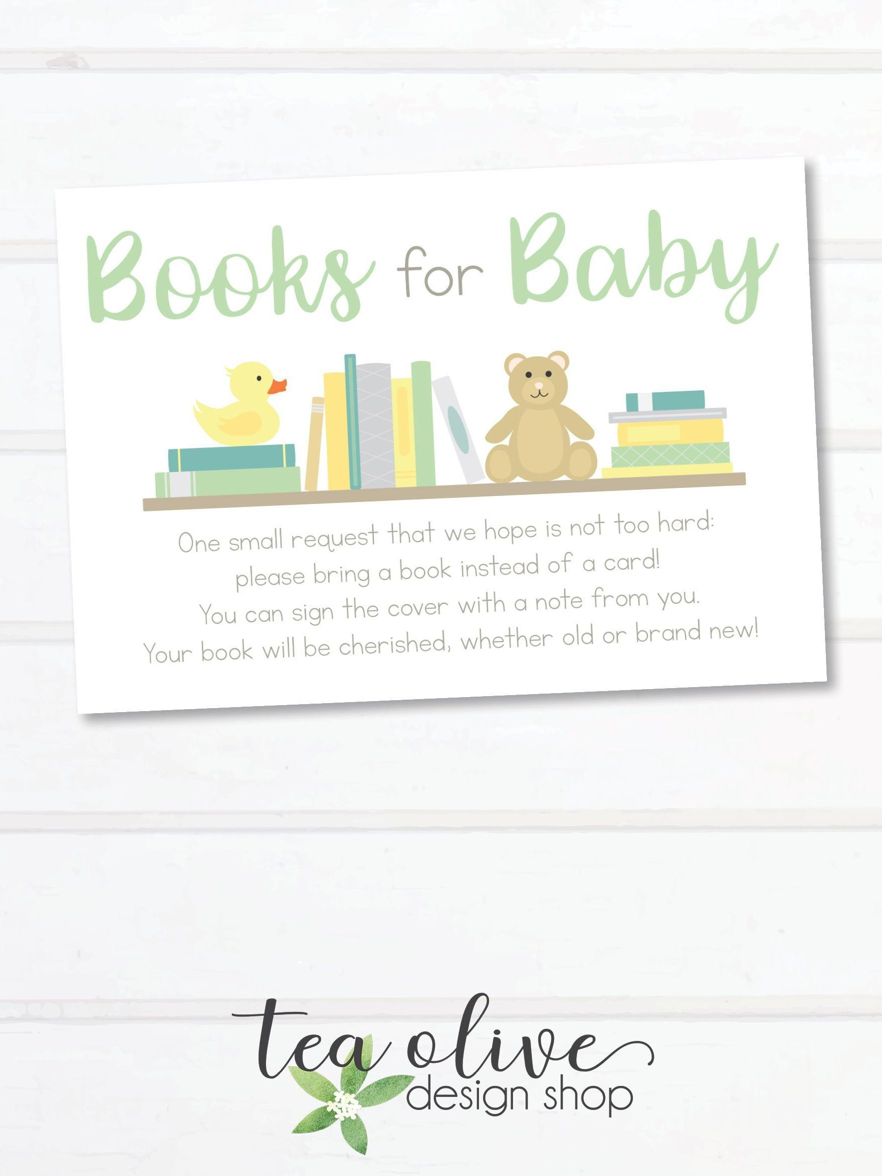 Park Art My WordPress Blog_Baby Shower Book Instead Of Card What To Write Inside