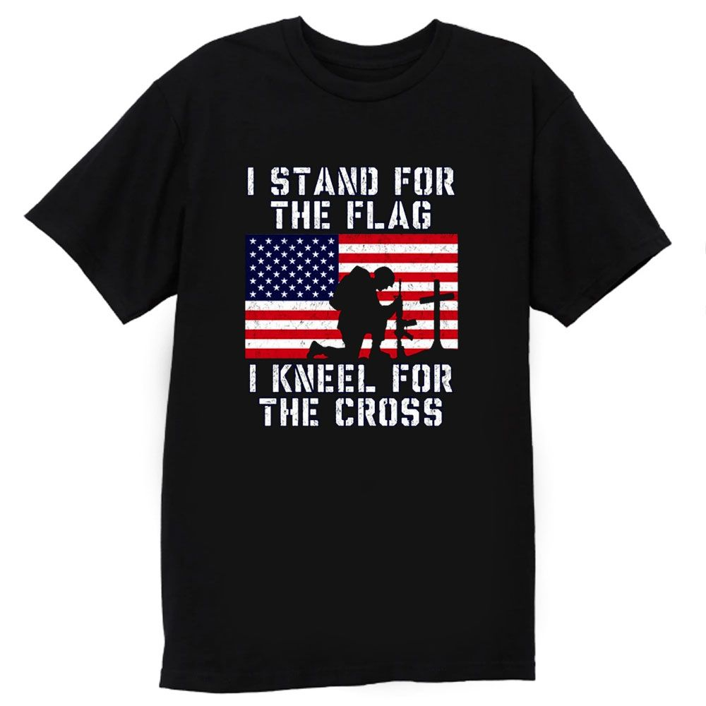 Park Art|My WordPress Blog_I Stand For The Flag And Kneel For The Cross