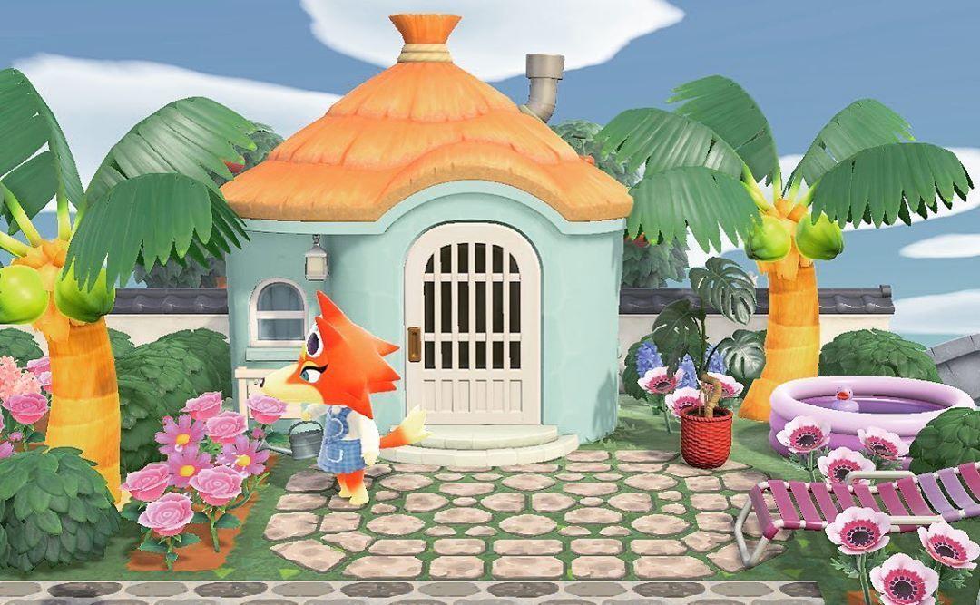 Park Art|My WordPress Blog_Pink Beach Chair Animal Crossing