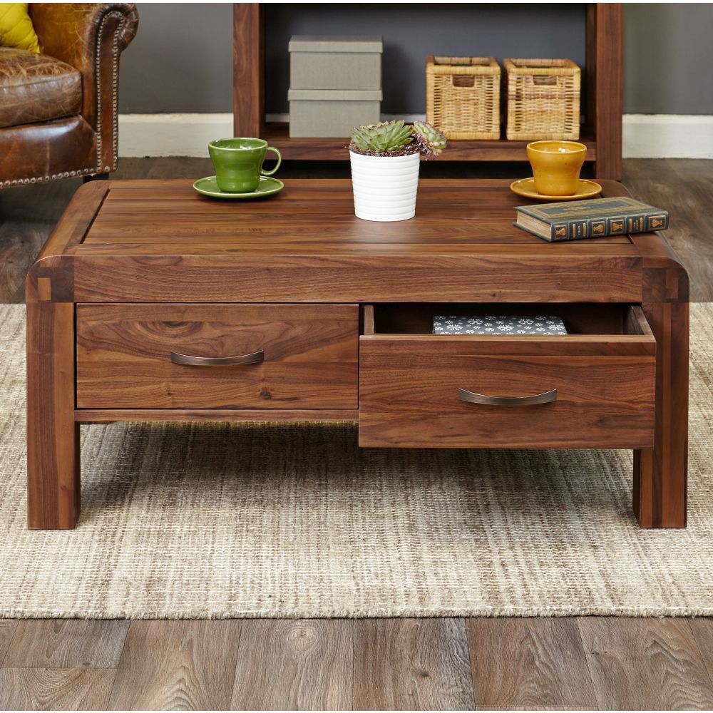 Park Art|My WordPress Blog_Solid Coffee Table With Drawers