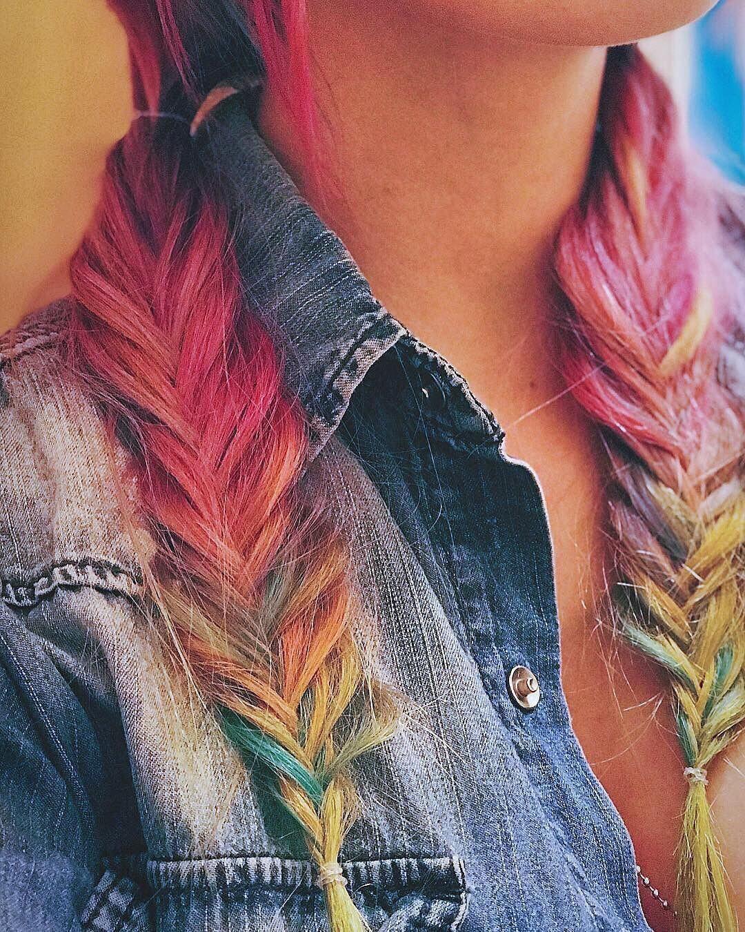 Park Art|My WordPress Blog_Rainbow Hair Dye Kit Arctic Fox