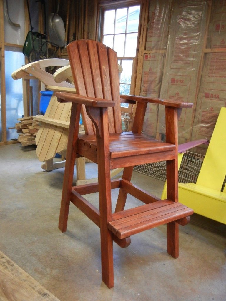 Park Art|My WordPress Blog_Bar Height Adirondack Chair Kit