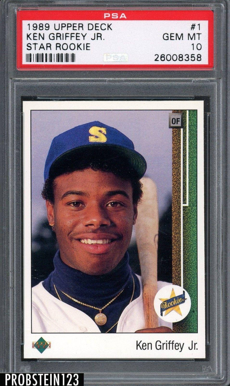 Park Art|My WordPress Blog_Ken Griffey Jr Baseball Card 1989