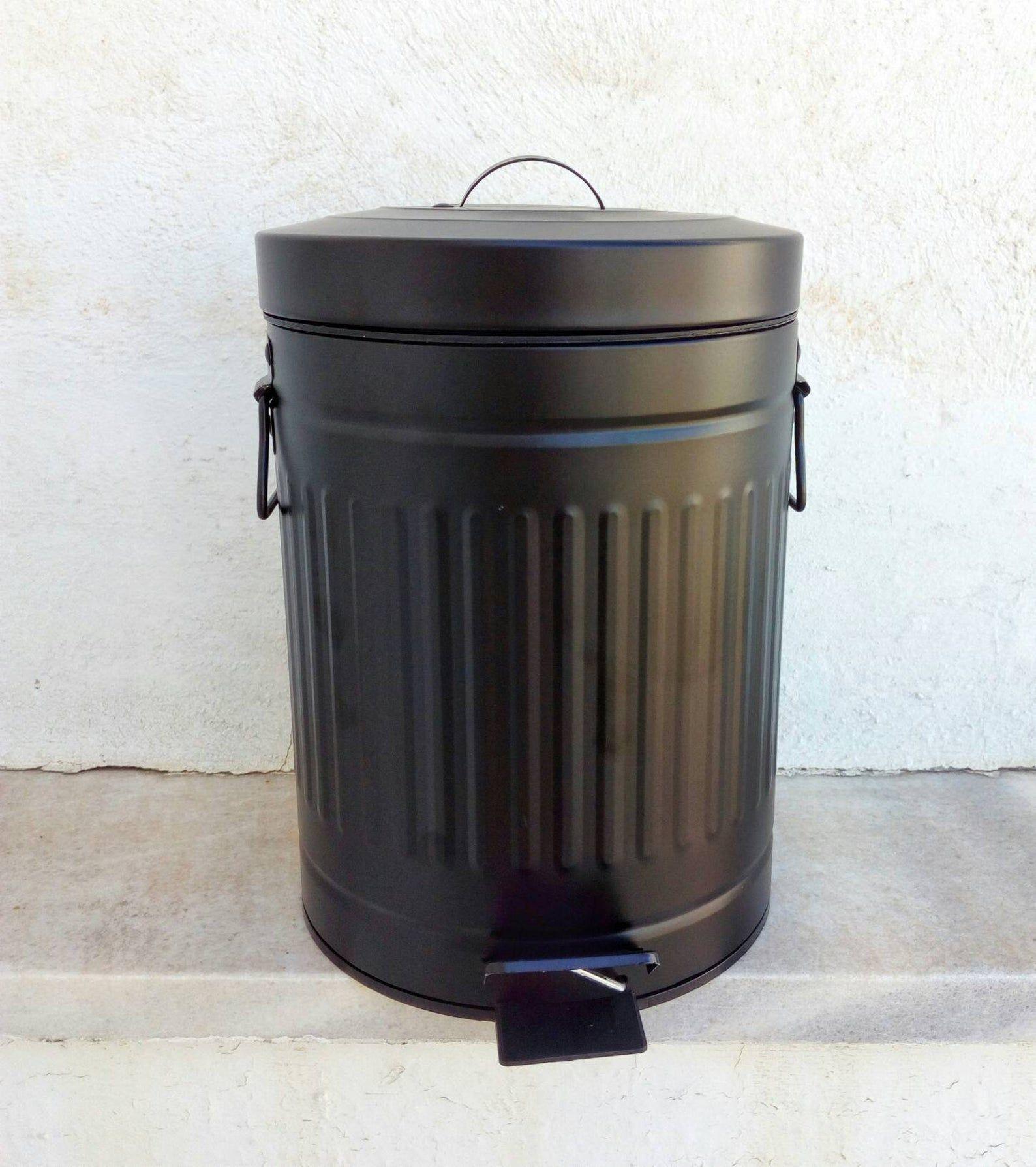 Park Art|My WordPress Blog_Farmhouse Style Bathroom Trash Can With Lid