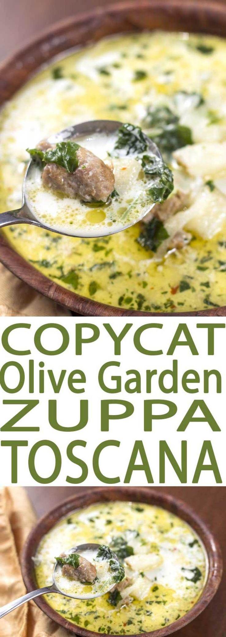 Park Art My WordPress Blog_Olive Garden Stellini Soup Ingredients