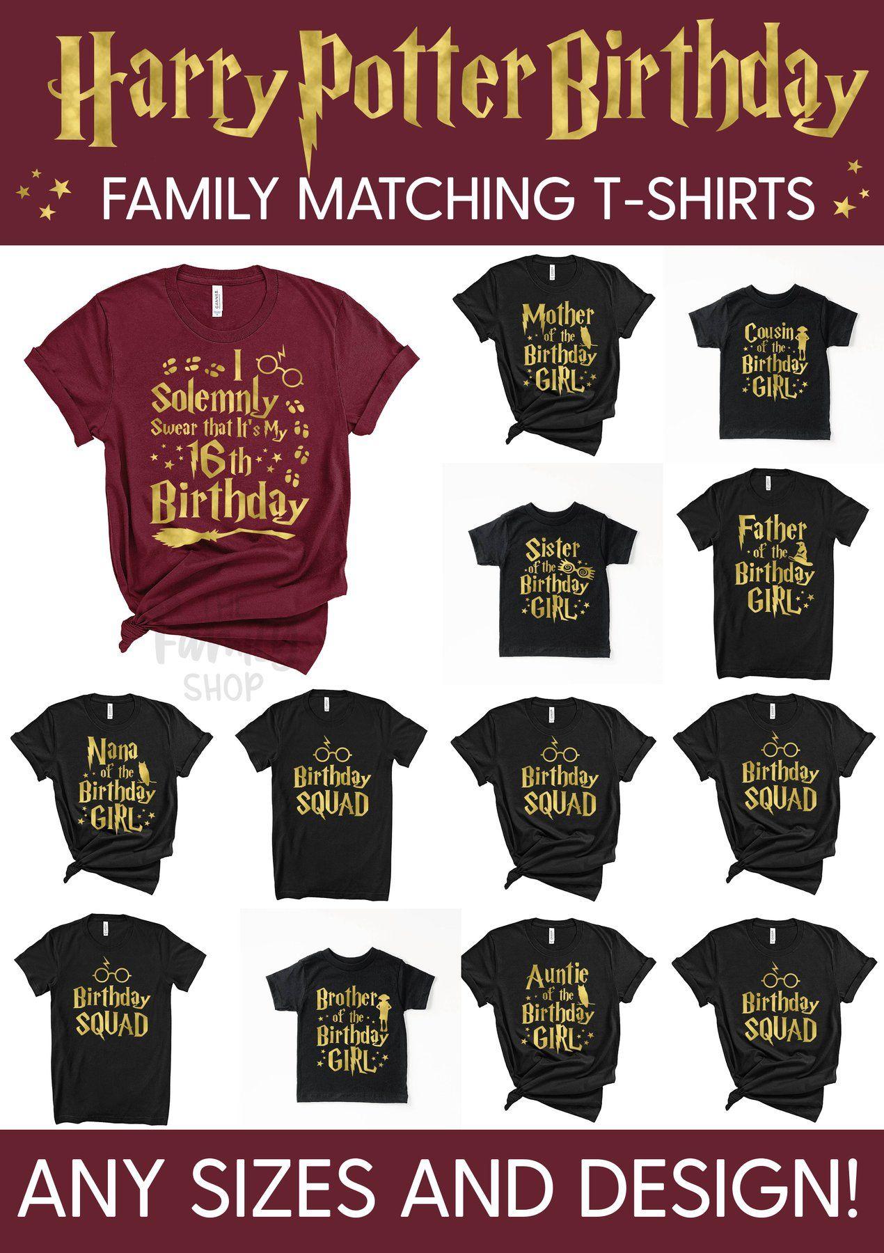 Park Art My WordPress Blog_Harry Potter Family Birthday Shirts