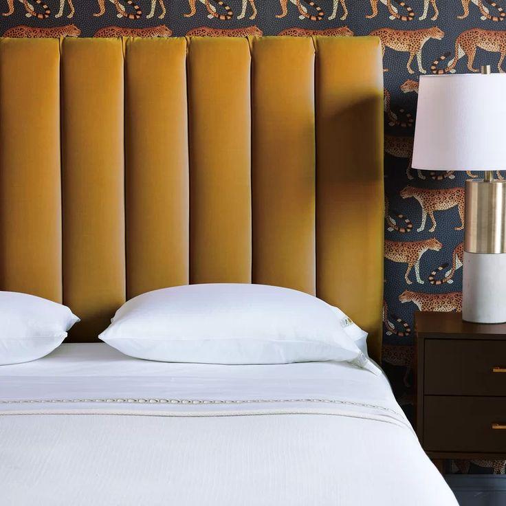 Park Art|My WordPress Blog_Art Deco Velvet Bed Frame