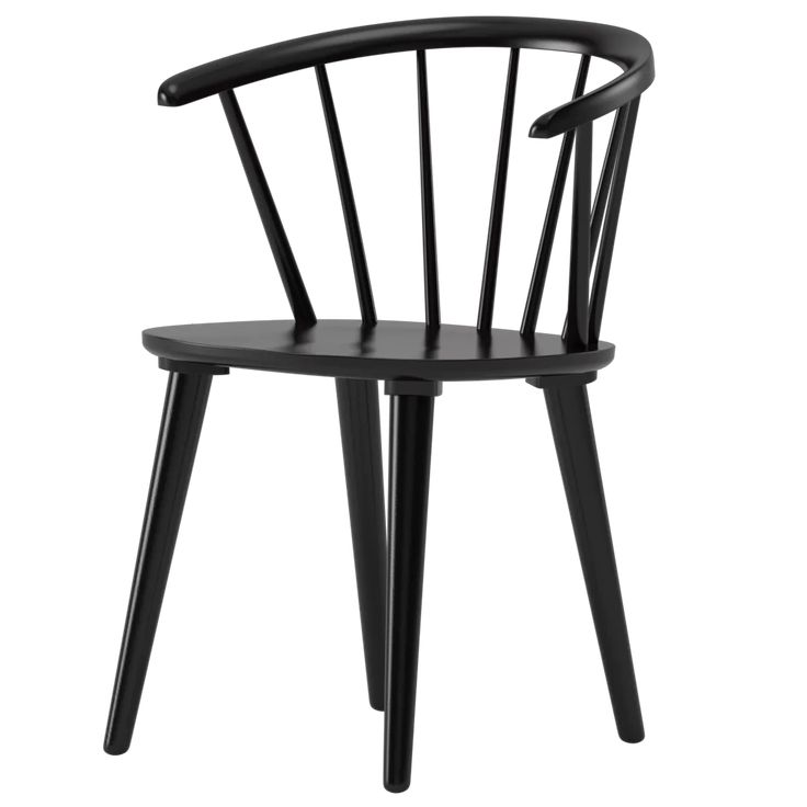 Park Art|My WordPress Blog_Black Spindle Chair With Arms