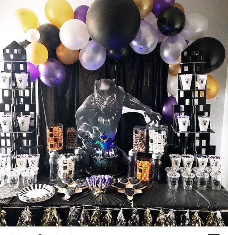 Park Art|My WordPress Blog_Black Panther Cake Topper Party City