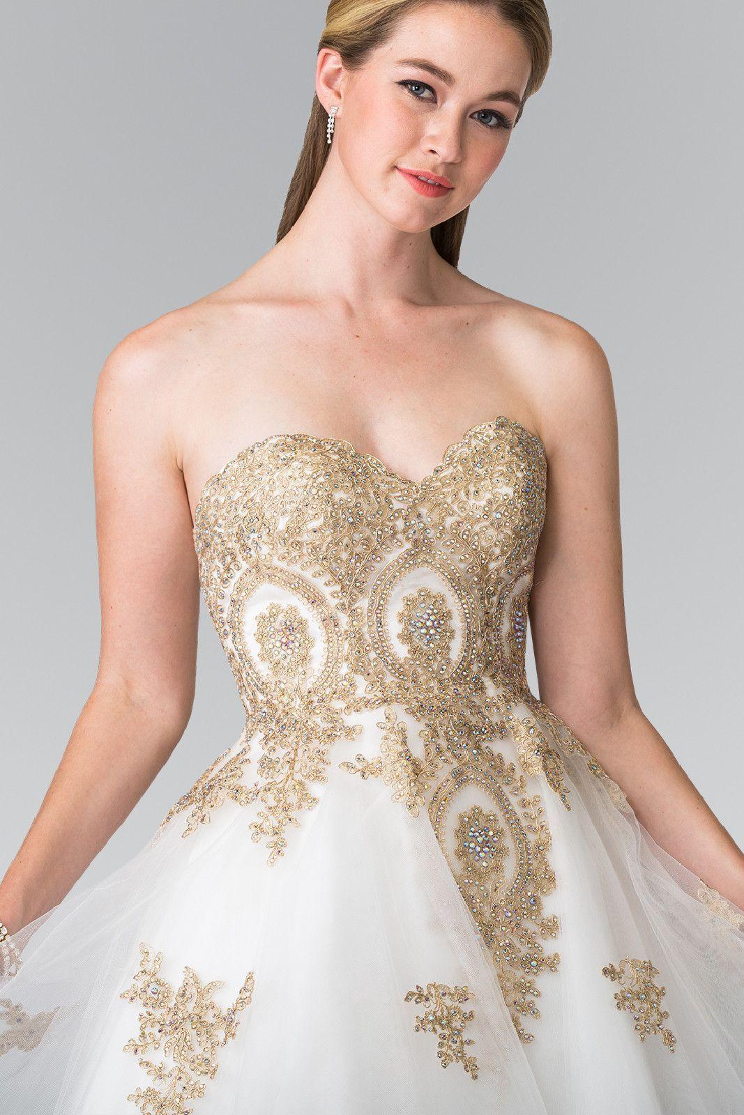 Park Art|My WordPress Blog_Gold Short Dress For Wedding
