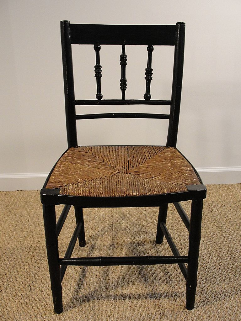 Park Art|My WordPress Blog_Black Spindle Chair With Cushions