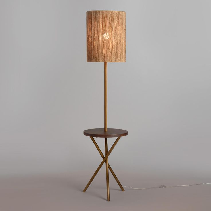 Park Art|My WordPress Blog_Tall Drum Shade Floor Lamp