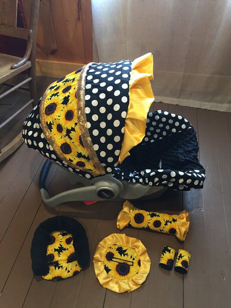 Park Art|My WordPress Blog_Sunflower Infant Car Seat Covers