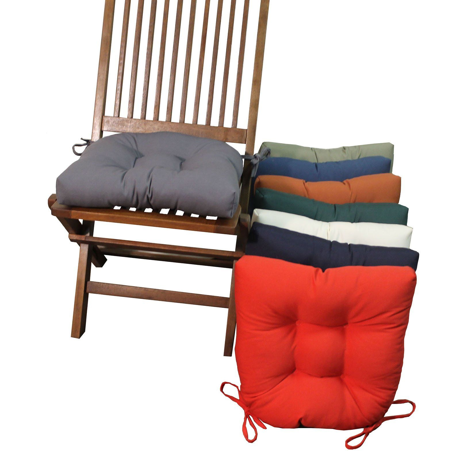 Park Art|My WordPress Blog_Wooden Chair Cushions With Ties