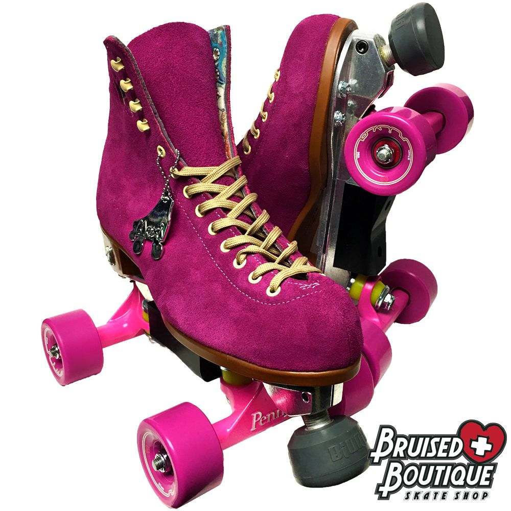 Park Art|My WordPress Blog_Penny Board Trucks On Roller Skates