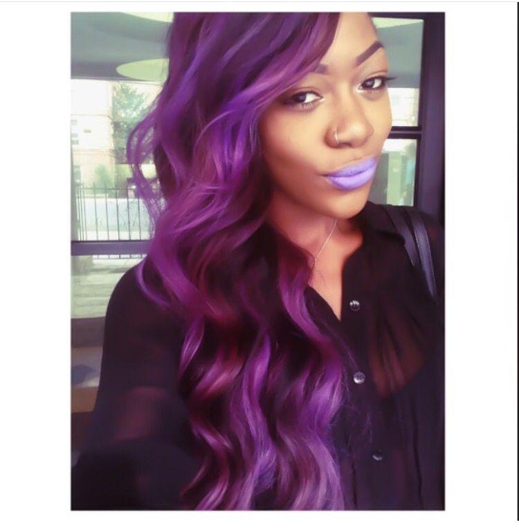 Park Art|My WordPress Blog_Adore Purple Black Hair Dye